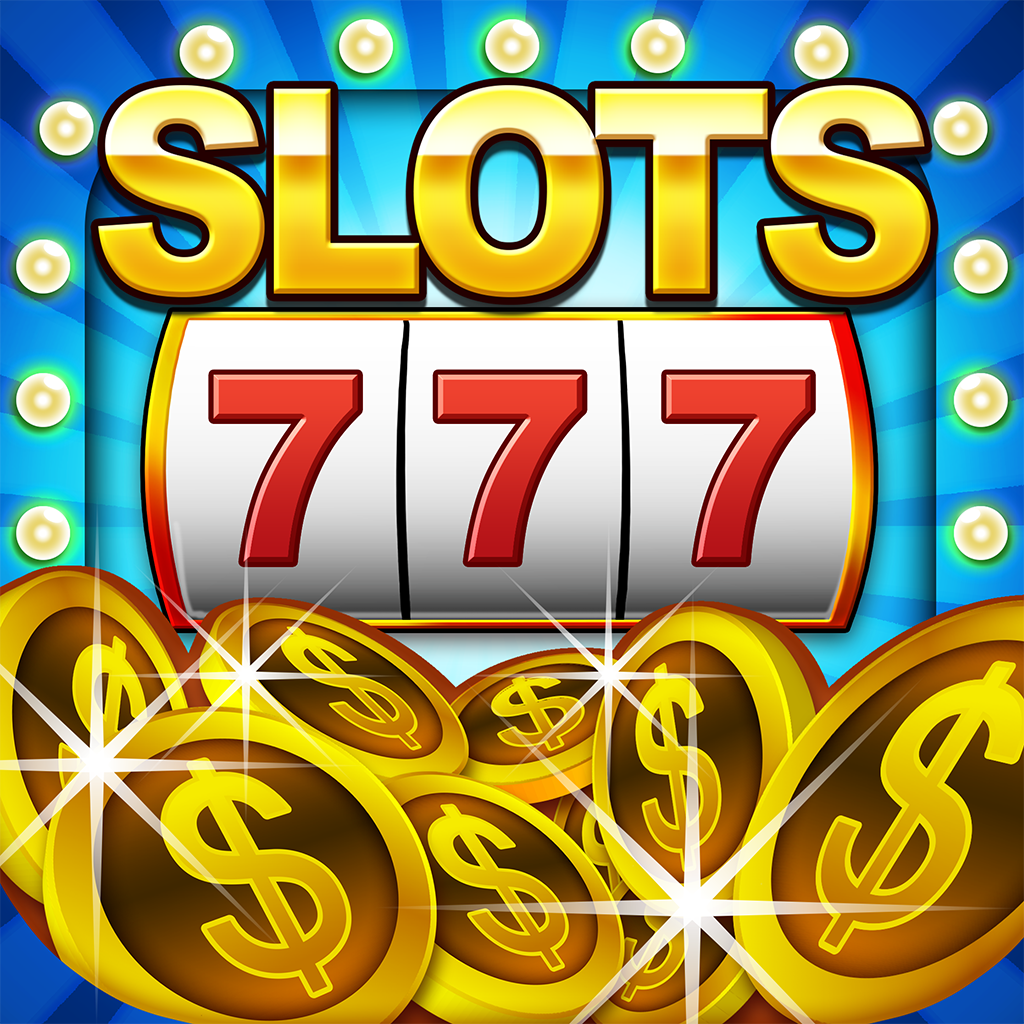 All Lucky Casino Gold Coin Jack-pot 777 Slots - Slot Machine with Bonus Prize-Wheel, Black-jack, & Solitaire